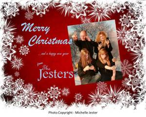 jester family christmas card 12 b