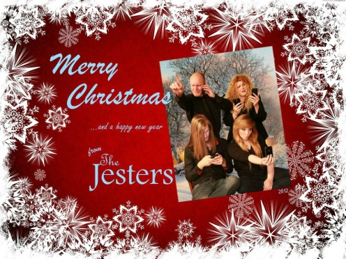2012 Michelle Jester Christmas Card phones